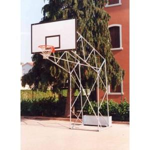 Impianto basket traliccio...